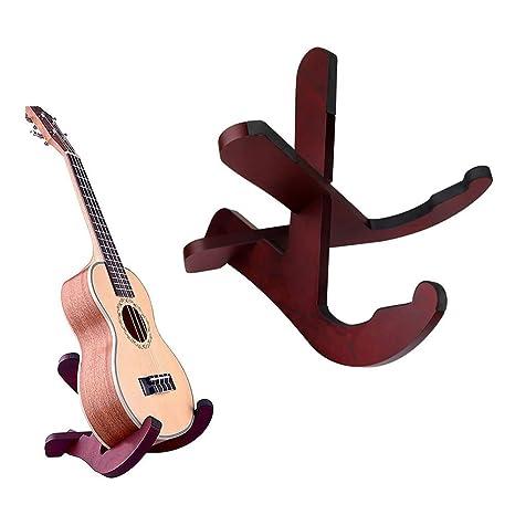 Soporte de madera para guitarra eléctrica, de Haichen, universal, para guitarra