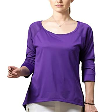 Amazon.com: Colygamala - Camiseta de manga larga para mujer ...