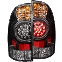 Anzo USA 311042 Toyota Tacoma Black LED Tail Light Assembly - (Sold in Pairs)