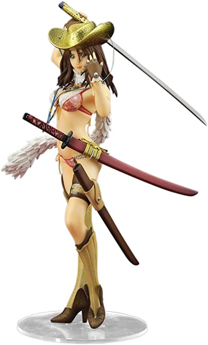 Amazon Com One Chanbara Vortex Aya 1 7 Scale Pvc Painted Figure By Alter Toys Games