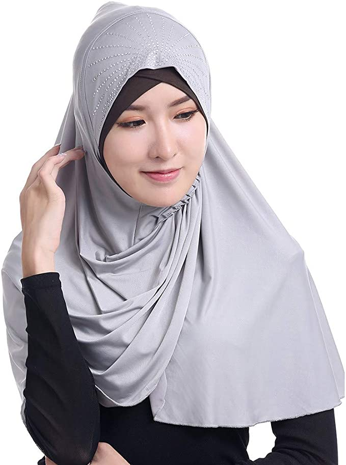 8 Pcs Snag Free Hijab Abaya Scarf Safety Plastic Hair dressing Premium Pins