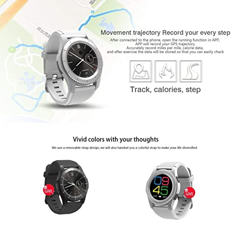 No.1 G8 Smartwatch Bluetooth 4.0 MTK2502 Sport Watch SIM ...