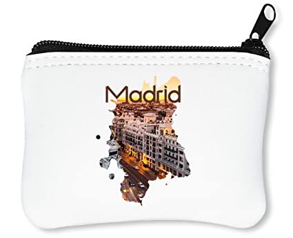 Madrid Series Theme Viva Espanol Football Billetera con ...
