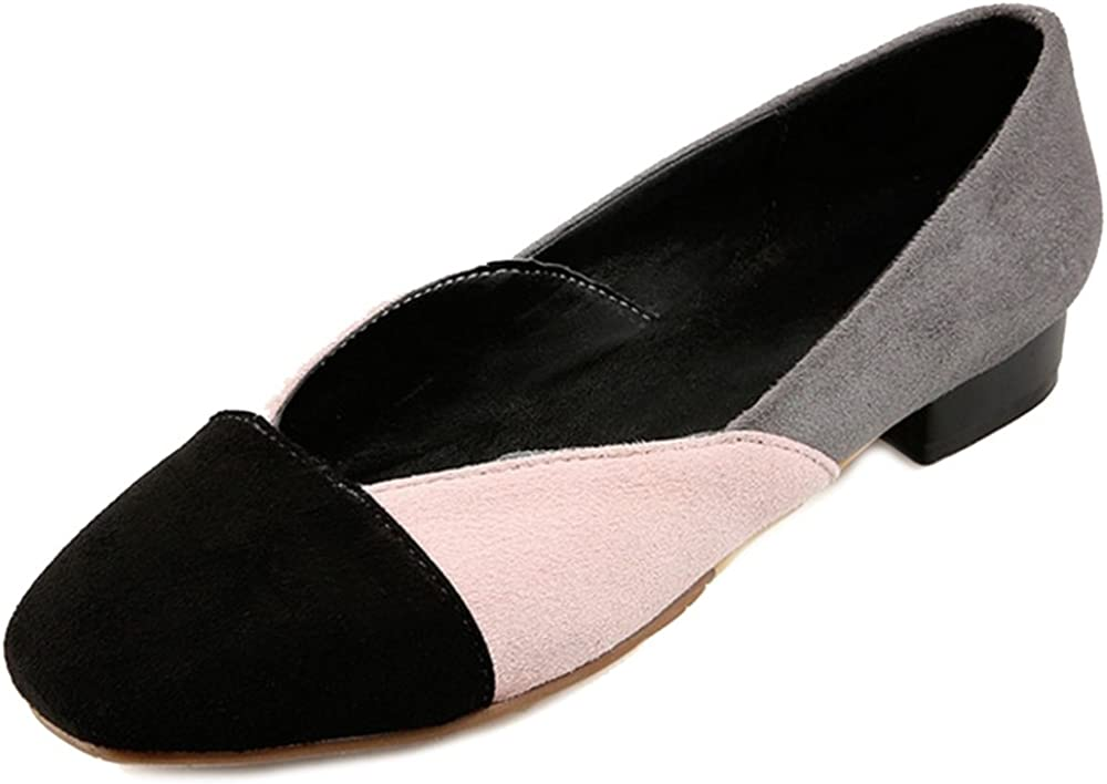 CuteFlats Mixed-Colors Flat Shoes with Large