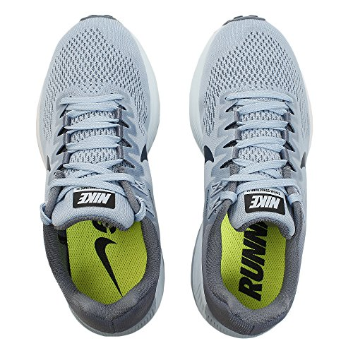 NIKE Women's Air Zoom Structure 21 Wide Running Shoe Armory Blue/Armory Navy/Cirrus Blue best seller Lnokbst