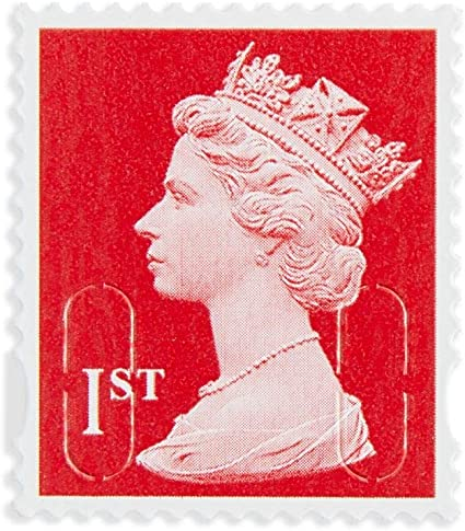 Book of 6 x 1st Class Royal Mail Postage Stamps by Royal Mail