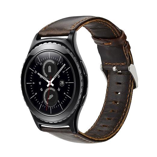 2 opinioni per Gear S2 Classic Cinturino, iBazal Samsung Gear S2 Classic Watch Bracciale 20mm