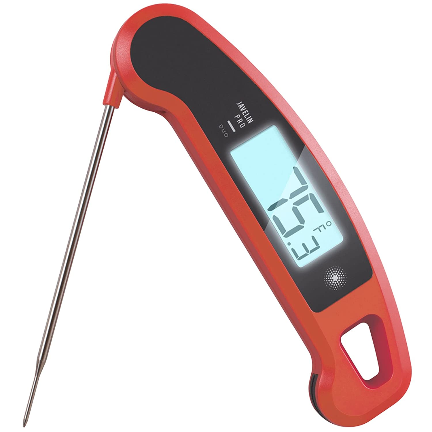 SousVideTools® Thermo Jack Gourmet Professional Food Kitchen Digital Thermometer (White)