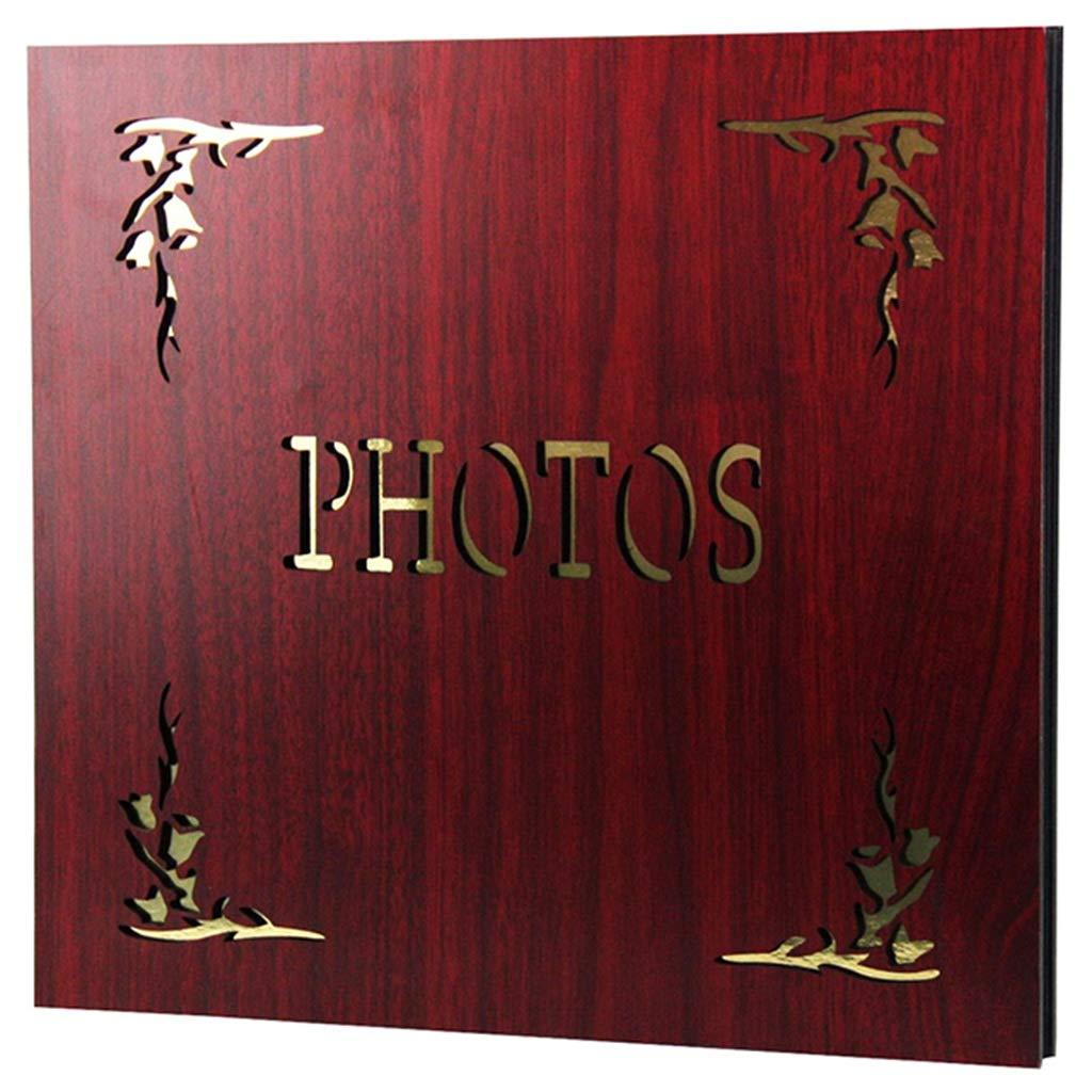 PHF Álbum de Fotos Retro intersticial   Álbum conmemorativo Puede almacenar 360 Fotos 6X4 (4R / 4D) (Color : Style#2, Tamaño : 37X36.5X4cm)