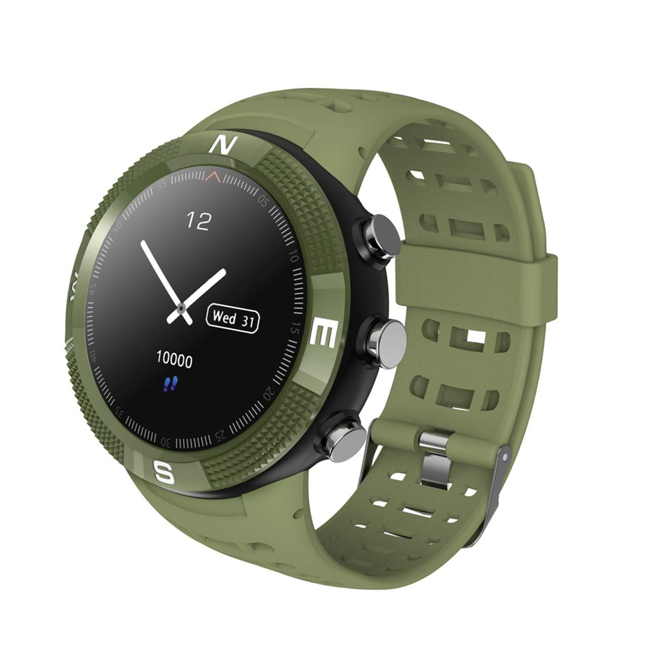 TOPE Reloj Inteligente Verde Smartwatch Sports Band ...
