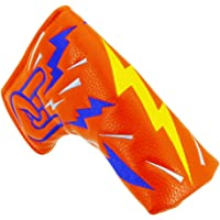 Big Teeth Golf Putter Headcover Club Protector Hiphop Style For Scotty Cameron Taylormade Odyssey Orange