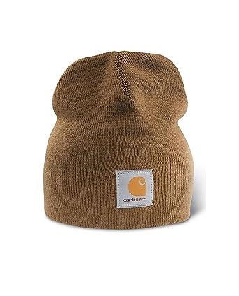 4a2d48d218e Carhartt Acrylic Knit Beanie - Brown Mens Winter Beanie Ski Hat  CHA205BRN-Universal