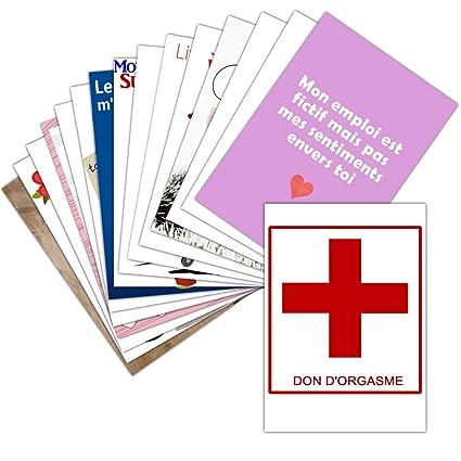 Tarjeta de amor gracioso - Lote de 16 tarjetas varias ...