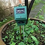 YKS 3-in-1 Soil Moisture, Light and pH / acidity Meter Plant Tester,Good for Gardener or planter both indoor and outdoors (No Battery needed)