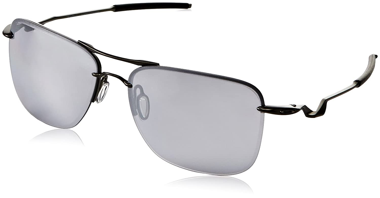 Amazon.com: Oakley Men\'s Tailhook OO4087-02 Rectangular Sunglasses ...