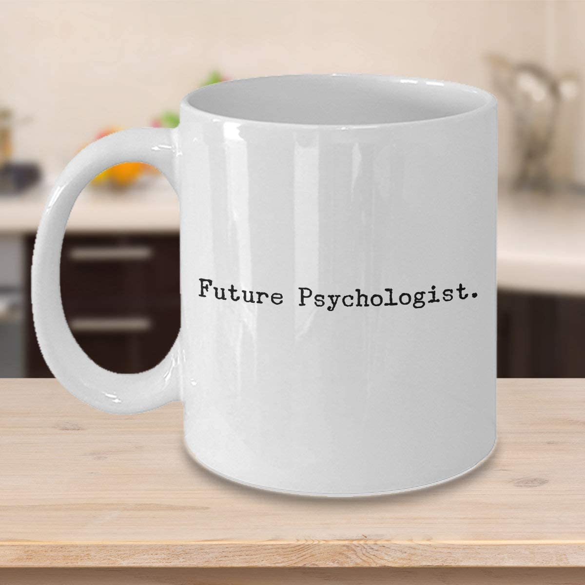 N\A Divertida Taza de café para psicólogo del Futuro, Estudiantes de psicología, única Idea de Regalo de Sarcasmo de Humor Lindo y Divertido para aprendices de pregrado