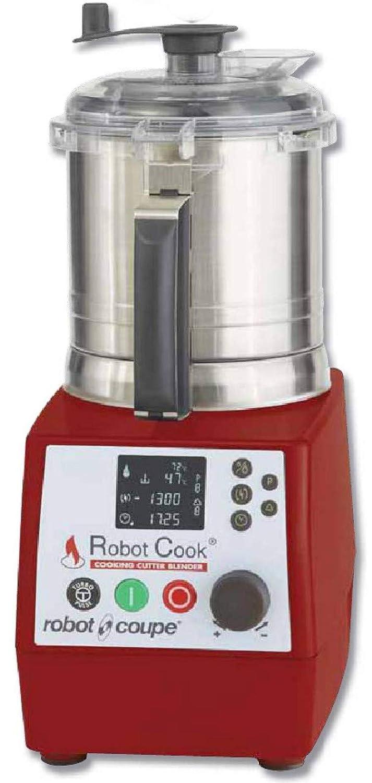rc-43000 Robot Cook Cutter licuadora calefacción, 5 funciones velocidad cubeta acero inoxidable 3.7L con empuñadura para: Amazon.es: Industria, empresas y ciencia