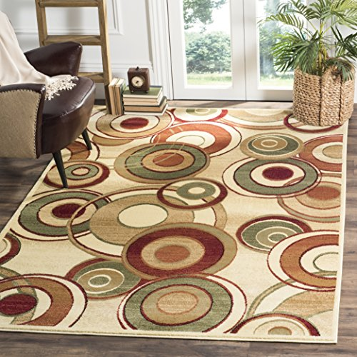 Safavieh Lyndhurst Collection LNH225A Ivory and Multi Area Rug (8' x 11')