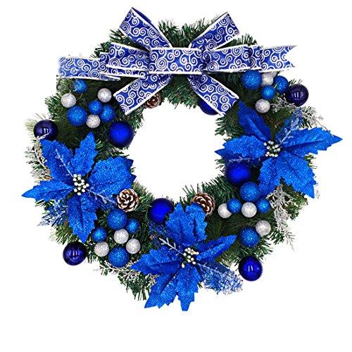 Ymccool Christmas Wreath Berries Garland Holiday