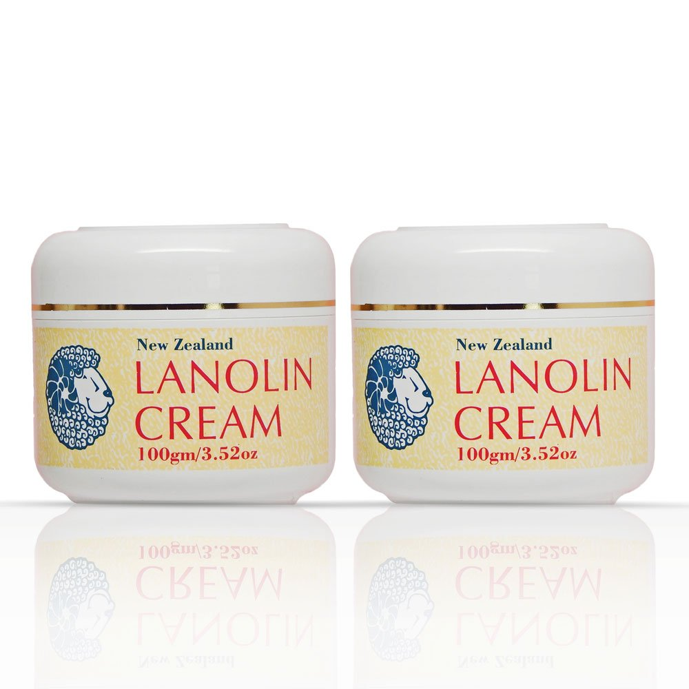 Pure and Simple New Zealand Lanolin Cream - Set of Two by Beauty Spa
