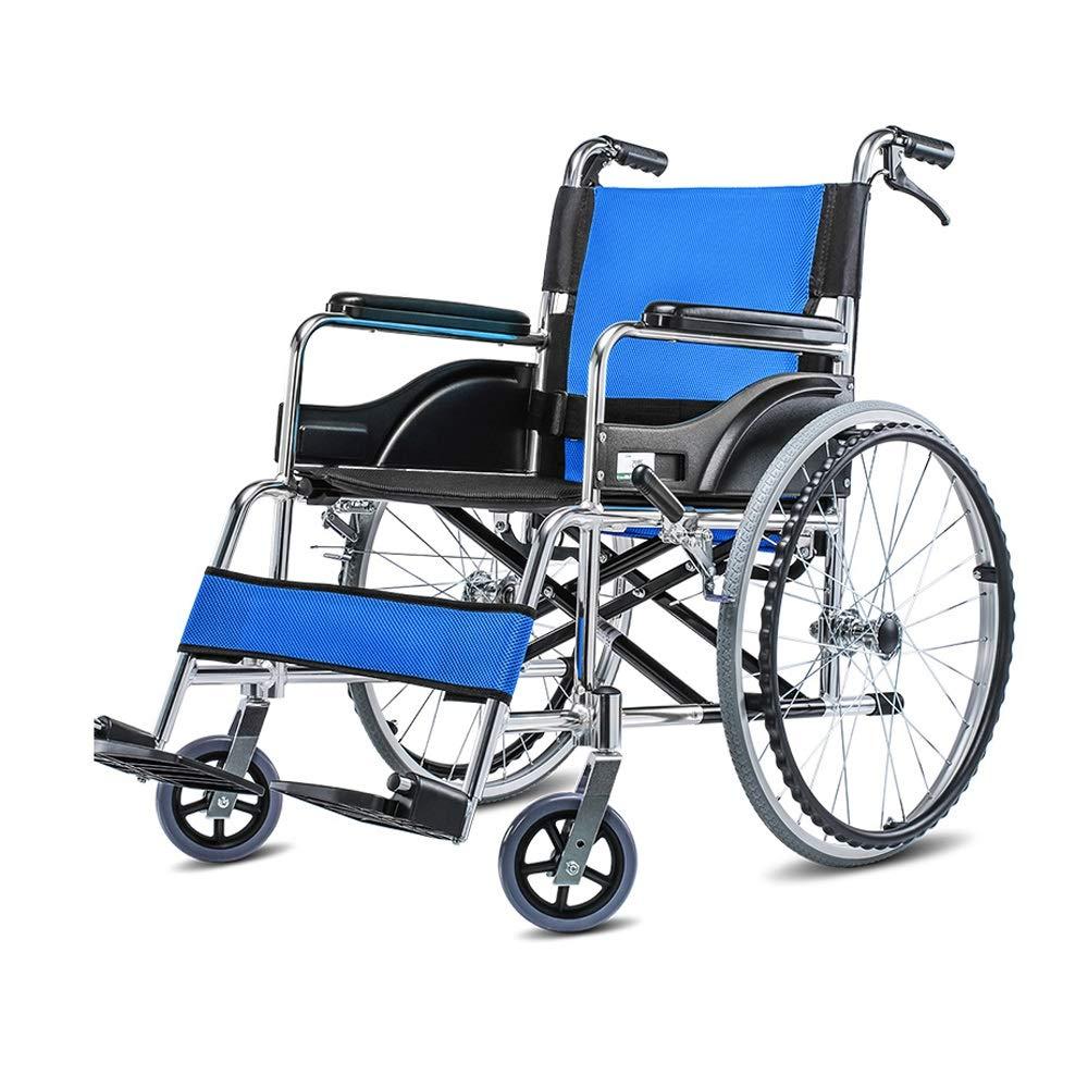 HF* HF 車いす 車いす、アルミニウム合金高齢者用手動車いす、手動ブレーキ、軽量折りたたみポータブルトラベル B07H98K54Z* B07H98K54Z, ディールデザイン:81f8e379 --- zonespirits.xyz