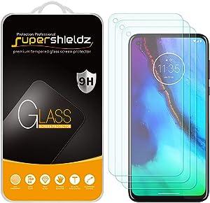(3 Pack) Supershieldz for Motorola Moto G Stylus Tempered Glass Screen Protector, Anti Scratch, Bubble Free