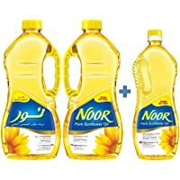 Noor 1.8 Liter, Pack of 2 + 750ml Sunflower Oil