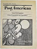 img - for Post American, Volume 3 Number 8, November 1974 book / textbook / text book