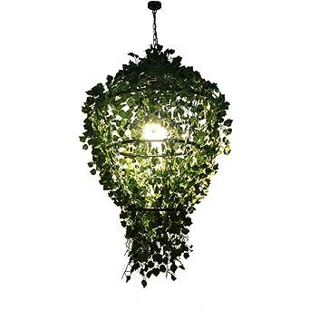 Lámparas de araña Luz de techo Rústico Simulación Decoraciones de ...