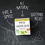 Maty's All Natural Vapor Rub, 1.5 Oz Jar, Pure
