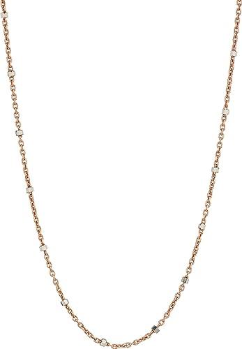 Chan Luu Chan Luu Woman Silver Crystal Necklace Silver Size ONESIZE HICXwVtJdR