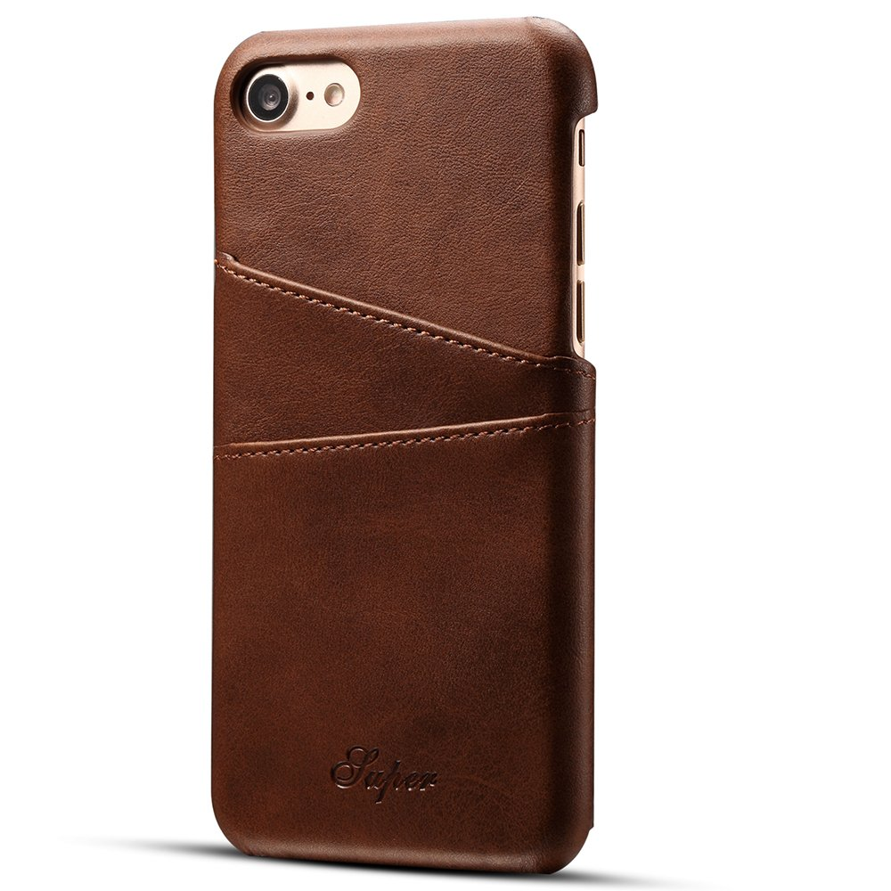 INFLATION iPhone XS Max Case Wallet Leather Back Case Cover with Credit Card