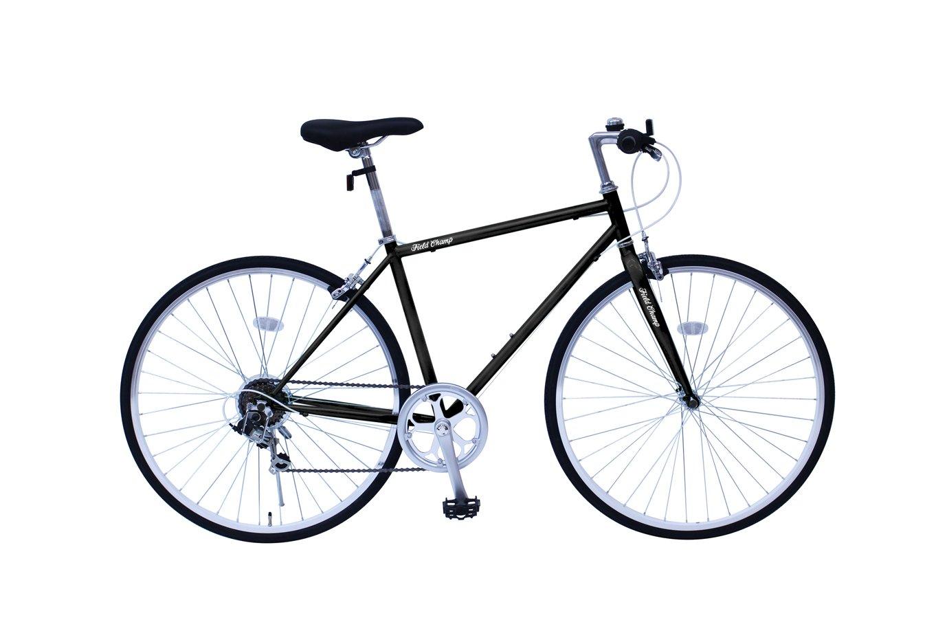 FIELD CHAMP MG-FCP700CF-BK ブラック [クロスバイク自転車] B0792M9DD4