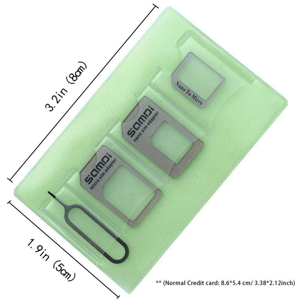 Tarjeta SIM Adaptador Kit especialmente diseñado para iphone 7 6 5 ...