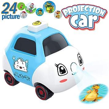 Amazon.com: PBOX - Proyector de juguetes de coche para bebés ...