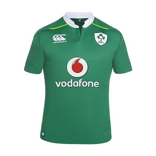 2126b6f2ee0 Amazon.com: Ireland Rugby Vapodri Home Pro Jersey: Clothing