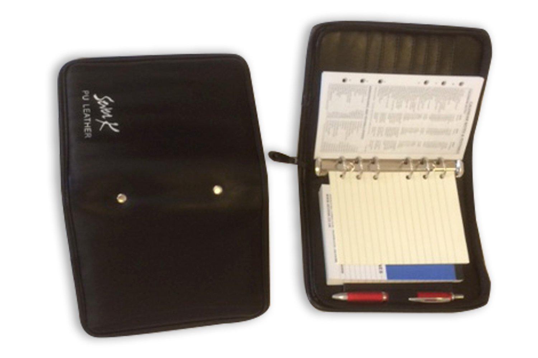 PU-Leder mit Reißverschluss Ring Binder geeignet für Mulberry Agenda Modified Größe BLK 9986 m-2018 Weekly Diary B073WYRKD4 | Online Store