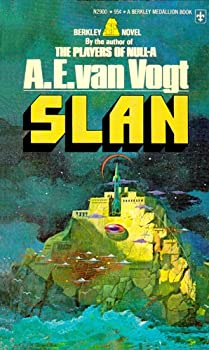 Slan by A.E van Vogt classic science fiction book reviews