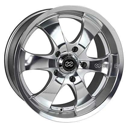 Amazon.com: Enkei M6- Truck Series Wheel, Mirror Finish (17x8