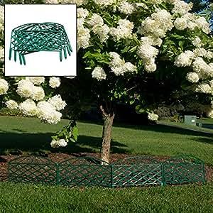 Set of 4 Border Garden Fence Panels