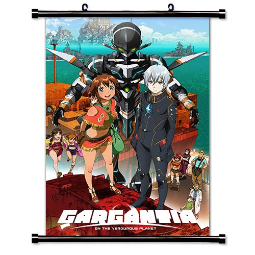 Gargantia on the Verdurous Planet Anime Fabric Wall Scroll P
