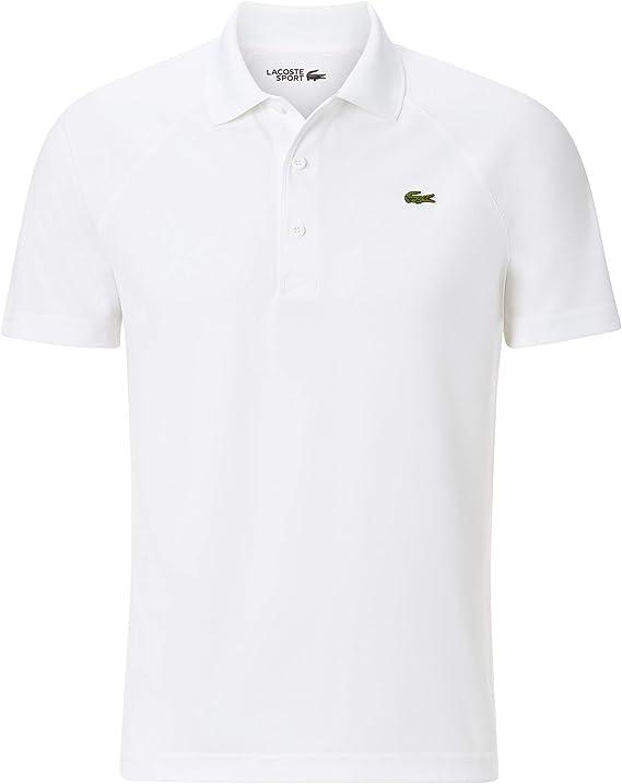 Lacoste - Wimbledon Polo de Tenis para Hombre (Blanco) - M: Amazon ...