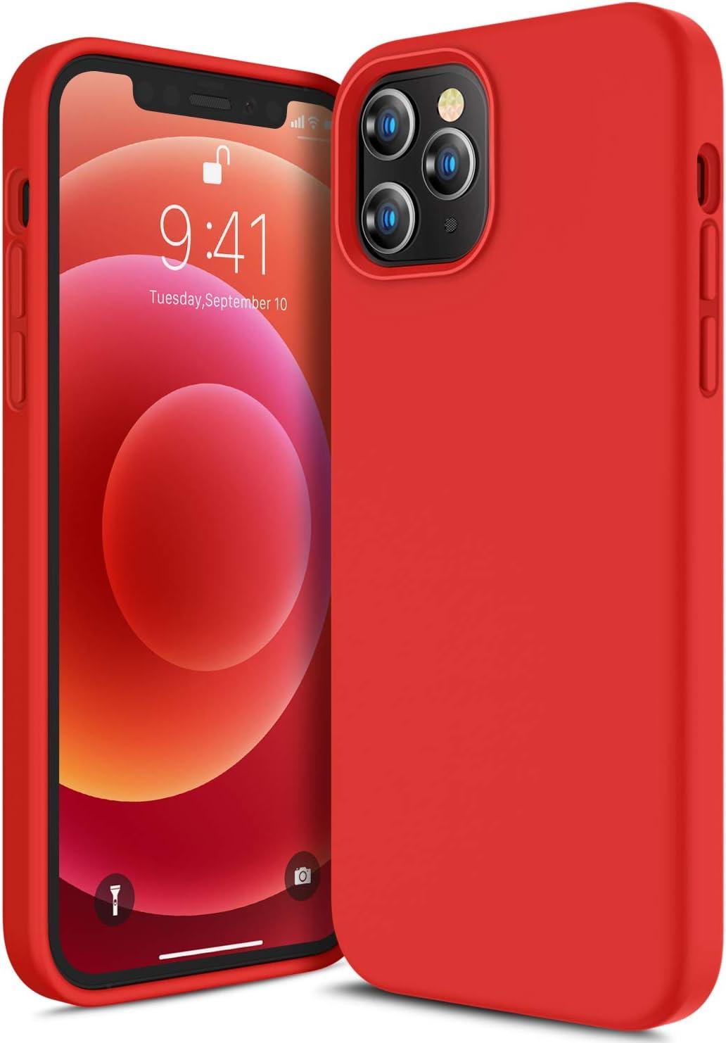 Canshn Liquid Silikon Hülle Kompatibel Mit Iphone 12 Elektronik