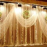 LED Window Curtain Light, Warm White