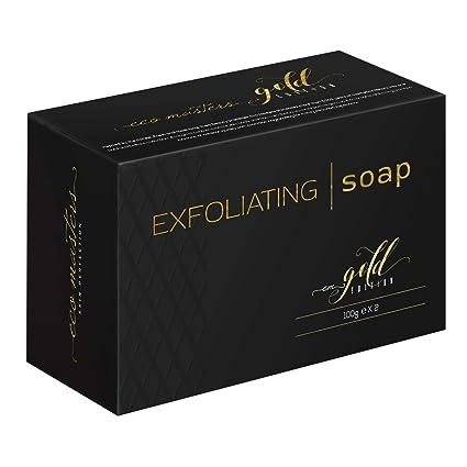Jabón Exfoliante Para Aclarar, Blanquear, e Iluminar La Piel, Eco Masters – Limpieza Facial - Efecto Hidratante y Calmante - Sin Parabenos - Se ...