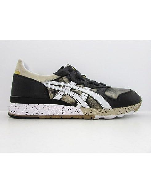 Asics - Zapatillas de running para hombre Gris Sand/White: Amazon.es: Zapatos y complementos