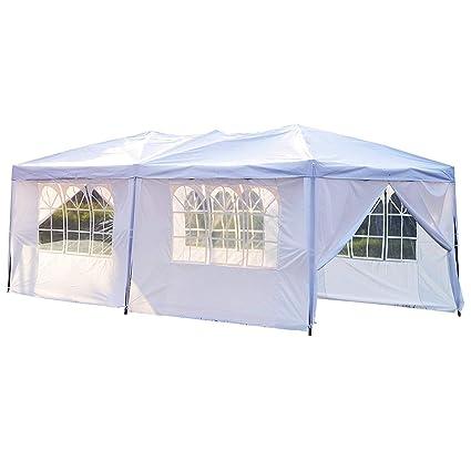 Image Unavailable  sc 1 st  Amazon.com & Amazon.com: Peaktop 10u0027x30u0027 Outdoor Party Wedding Tent Canopy Gazebo ...