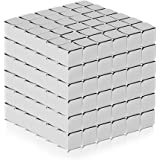 Fancyku Magnetic Cube (5MM Set of 216 Cubes) Magnetic Sculpture Desk Toys for Intelligence Development and Stress Relief