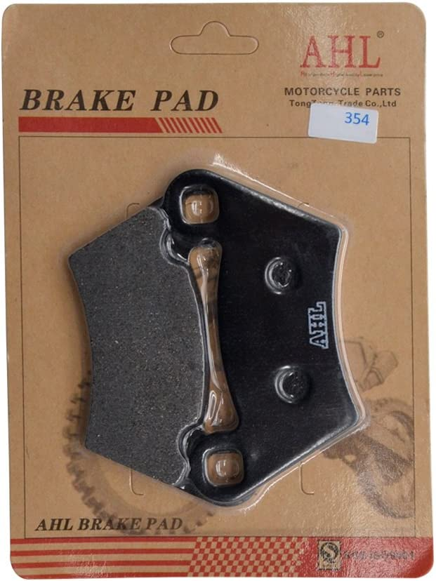 AHL Semi-metallic Front or Rear Brake Pads FA354 for Polaris PPS//Series 11 2x4//4x4//6x6