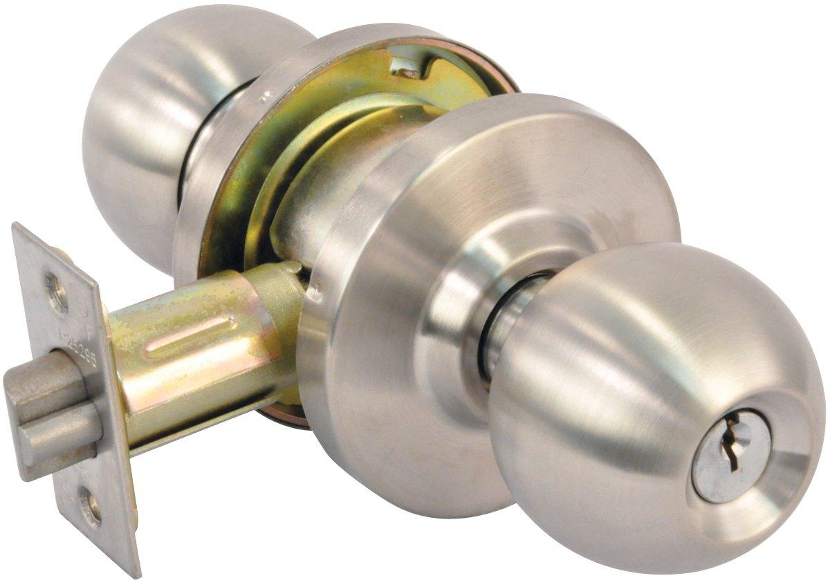 Legend 809089 Grade 2 Commercial Duty Ball Knob Storeroom Lockset